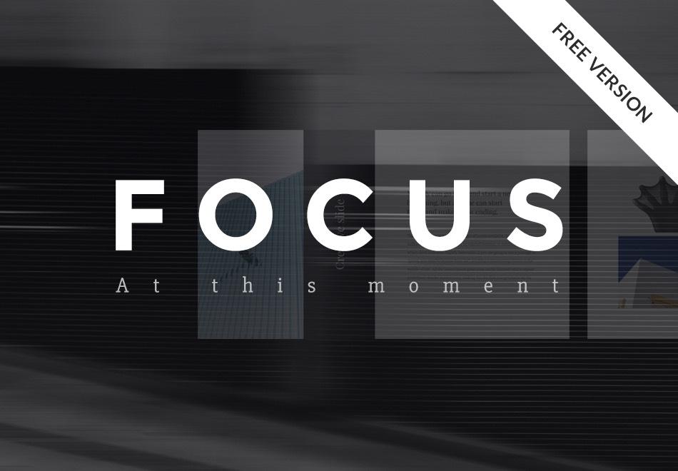 focus-free-powerpoint-keynote-template