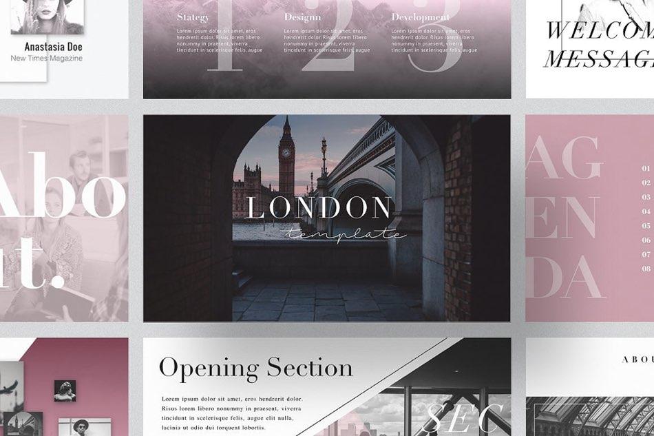 london-free-powerpoint-keynote-template