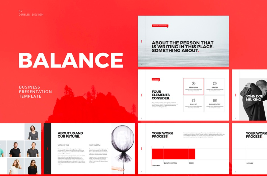 BALANCE Free PowerPoint Keynote Template