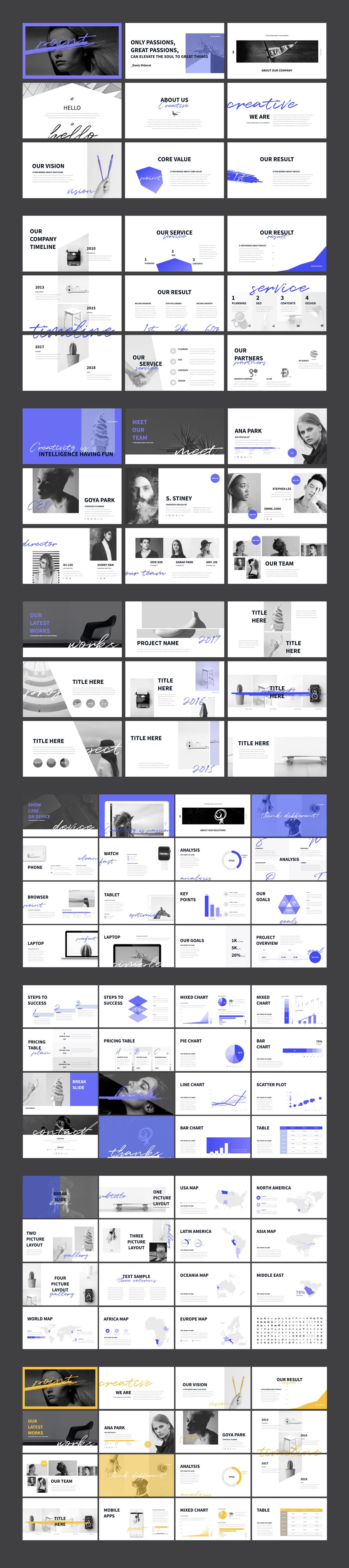 Point PowerPoint Keynote Presentation Template