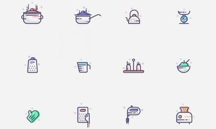 PPT 디자인을 위한 커피 & 푸드 무료 아이콘
