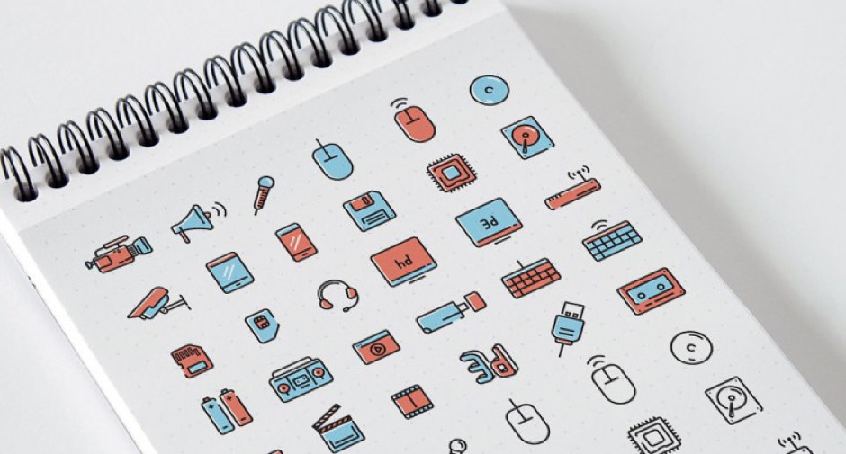 Media and Technology free icons