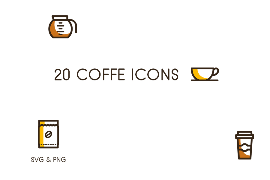 Free Coffee Icons Vector