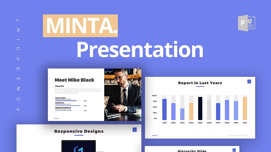 Free PPT PowerPoint Keynote Presentation Template