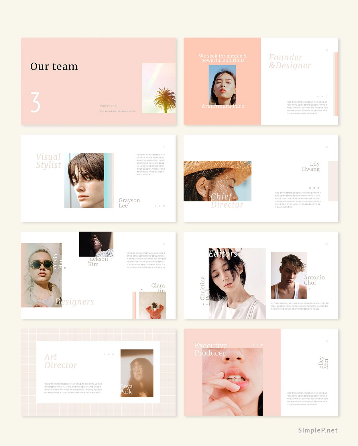 Collect PowerPoint Keynote Presentation Template