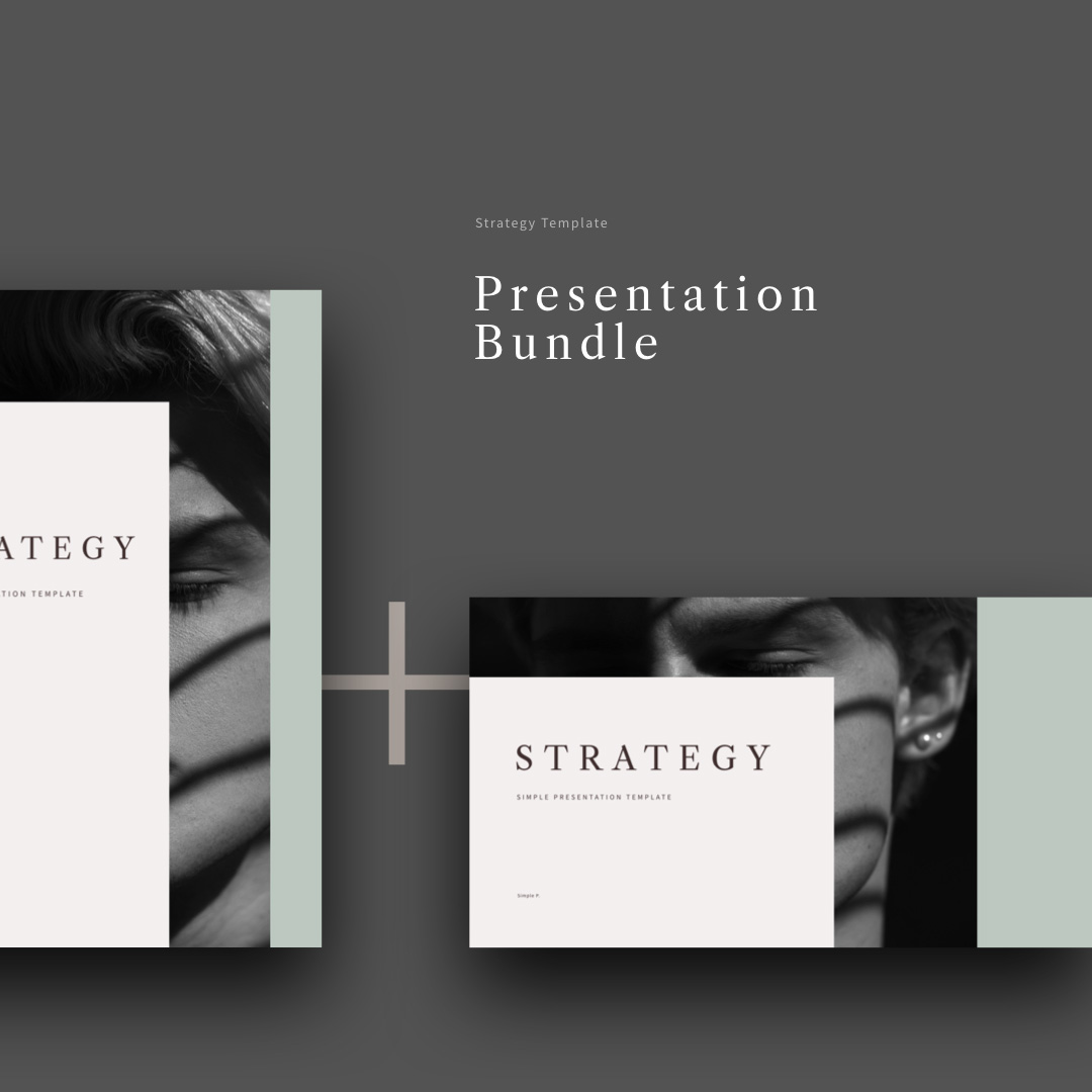 Strategy PowerPoint Keynote Presentation Bundle