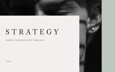 Strategy 프레젠테이션 템플릿