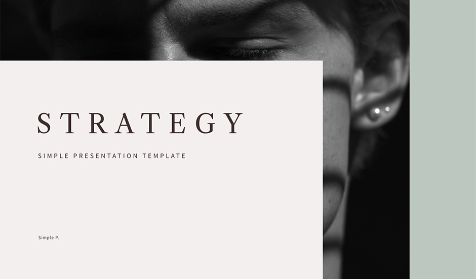 Strategy PowerPoint Keynote Presentation Template