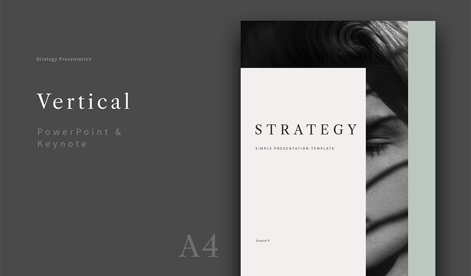Strategy Vertical Presentation Template