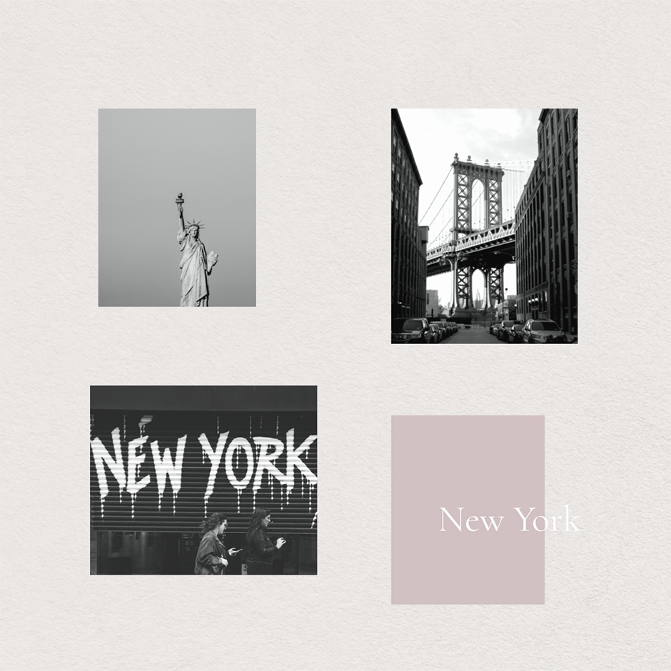 New York Travel Mood Board