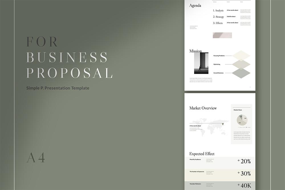 Proposal Verticla Template